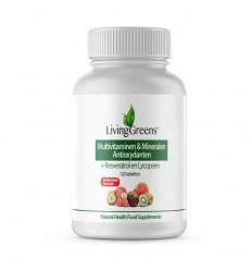 Livinggreens Multi vitaminen & mineralen antioxidant 120