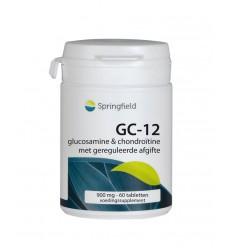 Springfield GC-12 Glucosamine & chondroïtine 60 tabletten | € 19.99 | Superfoodstore.nl