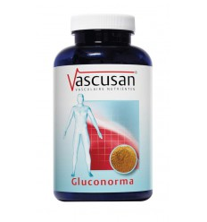 Vascusan Gluconorma 60 tabletten | € 18.02 | Superfoodstore.nl