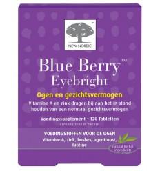 New Nordic Blue berry eyebright 120 tabletten |