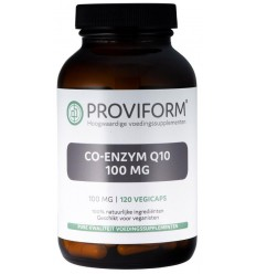 Proviform Co enzym Q10 100 mg 120 vcaps | € 50.19 | Superfoodstore.nl