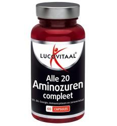 Lucovitaal Aminozuur & vitamine B6 60 capsules |