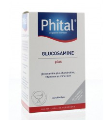 Phital Glucosamine plus 60 tabletten | € 27.32 | Superfoodstore.nl