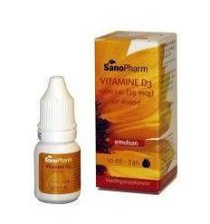 Vitamine D Sanopharm Vitamine D3 1000IE Emulsan 10 ml kopen