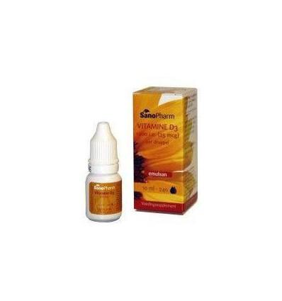 Sanopharm Vitamine D3 1000IE Emulsan 10 ml | € 12.99 | Superfoodstore.nl