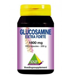NHP Glucosamine extra forte 1800 mg 100 capsules | € 90.68 | Superfoodstore.nl