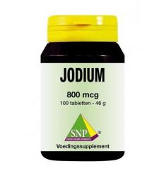 SNP Jodium 800 mcg + Q10 100 tabletten | Superfoodstore.nl