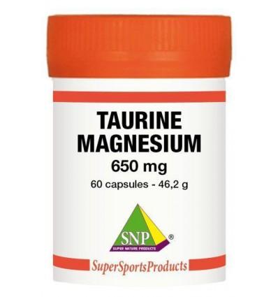 Taurine SNP 325 mg Magnesium 325 mg - Puur 60 capsules kopen