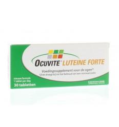 Ocuvite Luteine forte 30 tabletten | € 24.54 | Superfoodstore.nl