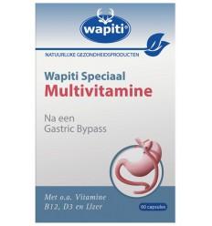 Wapiti Speciaal multivitamine 60 capsules | Superfoodstore.nl