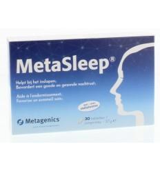 Metagenics Metasleep 30 tabletten | Superfoodstore.nl