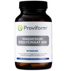 Proviform Magnesium bisglycinaat 400 90 vcaps | € 21.09 | Superfoodstore.nl