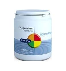 Plantina Magnesium met taurine 90 tabletten | Superfoodstore.nl