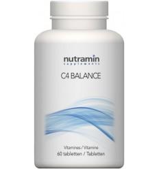 Nutramin C4 balance 60 tabletten | Superfoodstore.nl