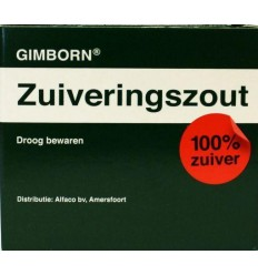 Gimborn Zuiveringszout 125 gram   Superfoodstore.nl