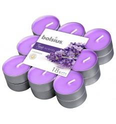 Bolsius Theelichten true scents lavendel 18 stuks |