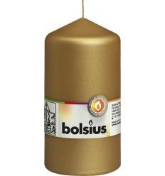 Bolsius Stompkaars 130/68 metal goud | Superfoodstore.nl