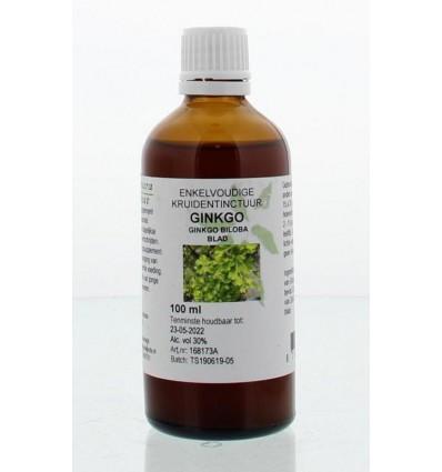 Fytotherapie Natura Sanat Ginkgo biloba folia tinctuur 100 ml kopen