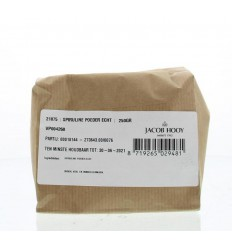 Jacob Hooy Spirulina poeder 250 gram | Superfoodstore.nl