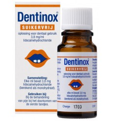 Vemedia Dentinox suikervrij 9 ml | Superfoodstore.nl