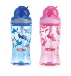 Nuby Flip it beker 360 ml 3 jaar+ | Superfoodstore.nl