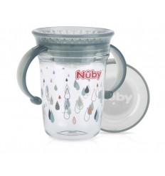 Nuby wonder cup 240ml 6m+ grs   Superfoodstore.nl