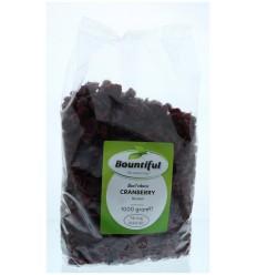 Bountiful Cranberry bessen 1 kg   Superfoodstore.nl