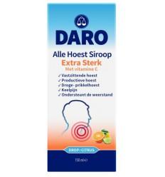 Daro Alle hoest siroop extra sterk 150 ml | € 10.55 | Superfoodstore.nl