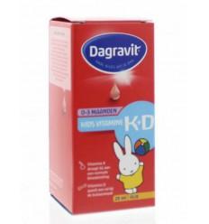Dagravit Vitamine K+D druppels 25 ml | Superfoodstore.nl