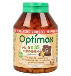 Optimax Kinder multivit naturel 180 kauwtabletten  