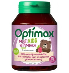 Optimax kinder multi extra | € 14.78 | Superfoodstore.nl