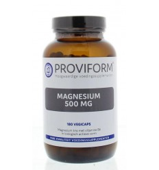Proviform Magnesium 500 mg 180 vcaps | Superfoodstore.nl