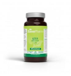 Sanopharm IJzer 5 mg wholefood 30 capsules | Superfoodstore.nl