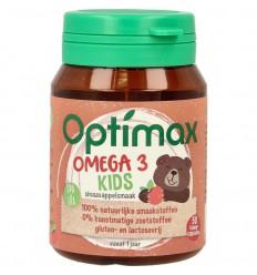 Optimax Kinder omega 3 sinaasappel 50 capsules  