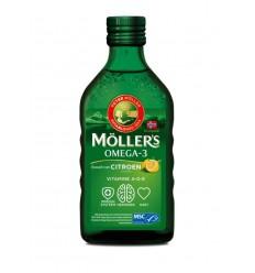 Mollers Levertraan citroen 250 ml | Superfoodstore.nl