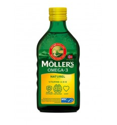Mollers Levertraan naturel 250 ml | € 17.91 | Superfoodstore.nl