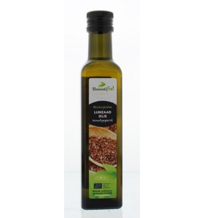 Bountiful Lijnzaadolie bio 250 ml | Superfoodstore.nl