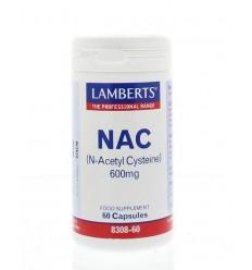 Lamberts N acetyl cysteine 60 capsules | Superfoodstore.nl
