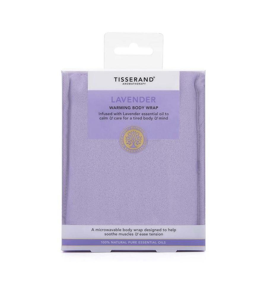 Tisserand Aromatherapy warming body wrap lavendel