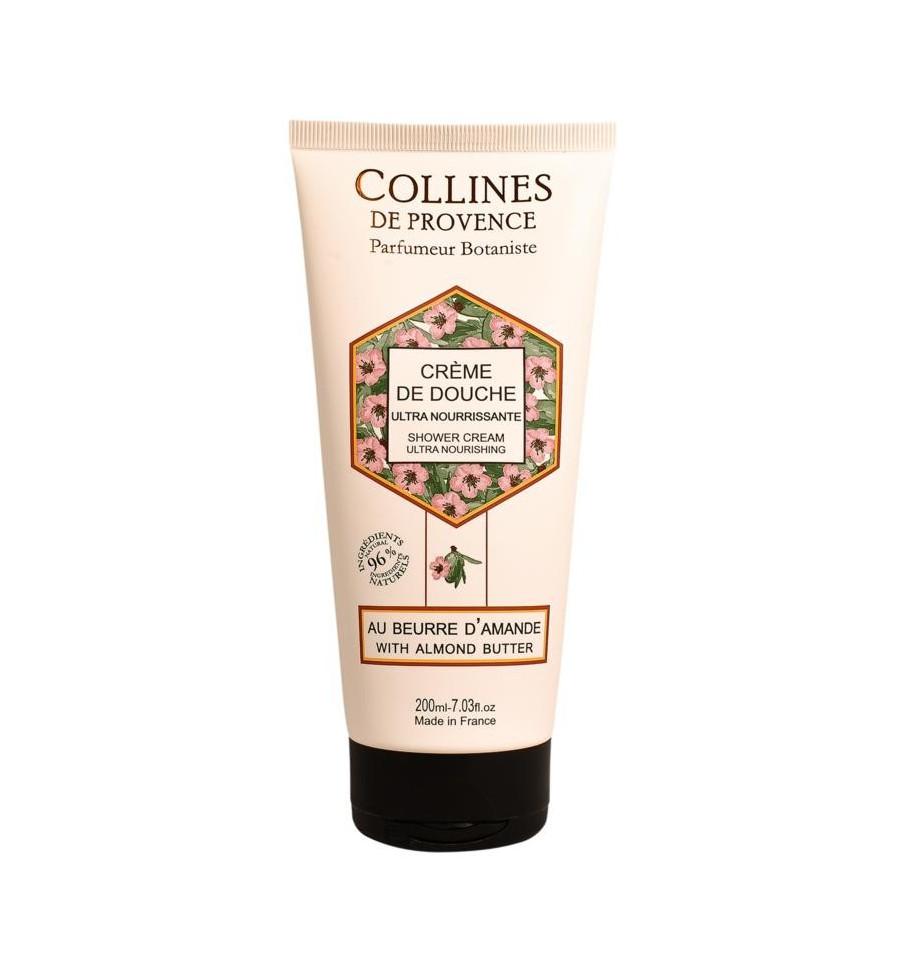 Collines de Provence Amandelboter showercream 20 ml