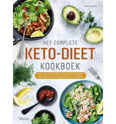 Het complete keto dieet kookboek | Superfoodstore.nl