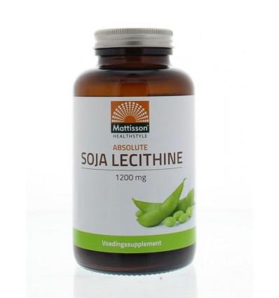 Mattisson Absolute soja lecithine 1200 mg 90 capsules |