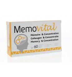 Trenker Memovital 60 tabletten | Superfoodstore.nl