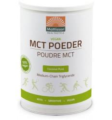 Mattisson Vegan MCT poeder coconut pure 330 gram |