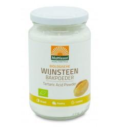 Mattisson Wijnsteen bakpoeder bio 180 gram | Superfoodstore.nl