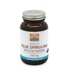 Mattisson Blauwe blue spirulina fytoblue phycocyanine 30 vcaps