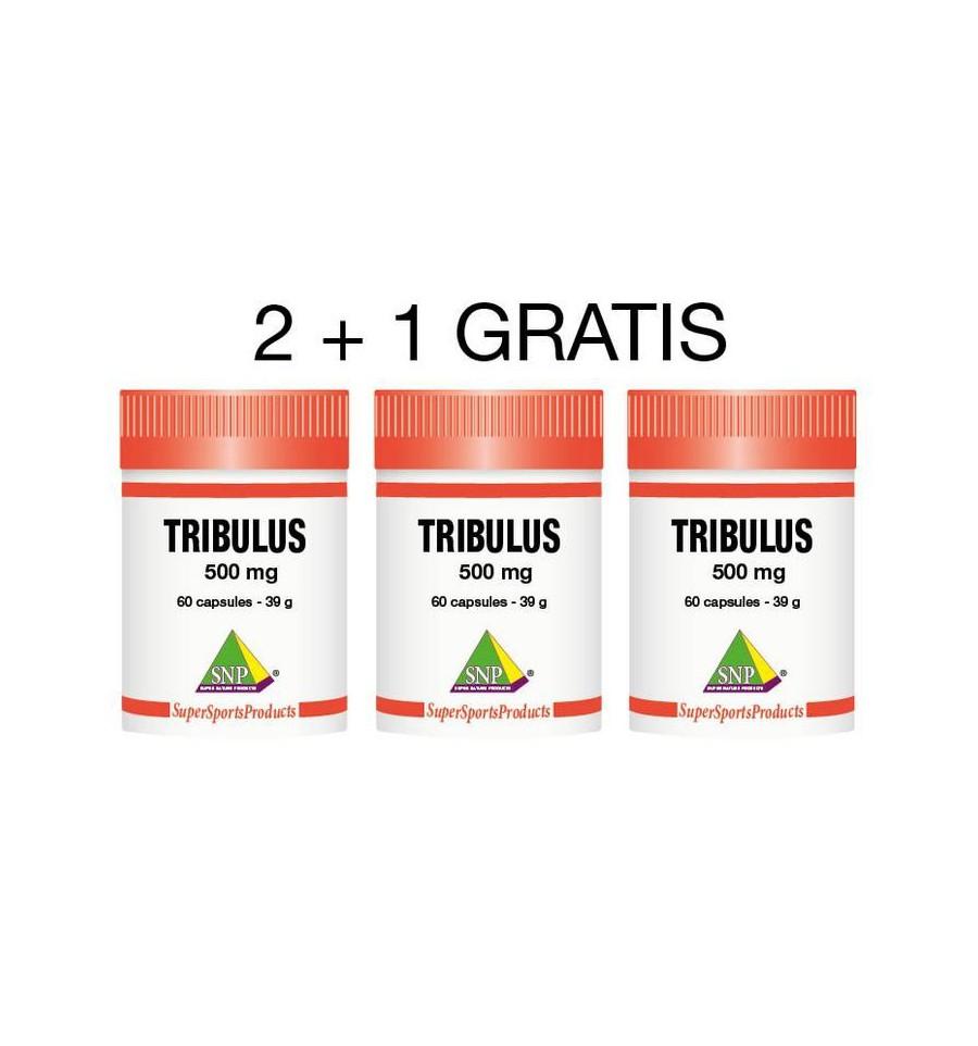 Tribulus 500 mg 2+1 gratis