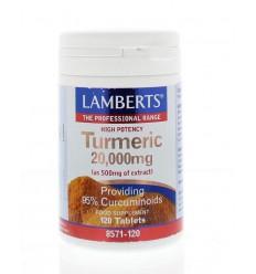 Lamberts Curcuma 20.000 mg (turmeric) 120 tabletten  