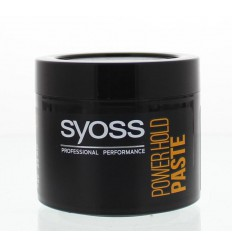 Syoss Men Power hold extreme styling paste 150 ml   € 5.92   Superfoodstore.nl