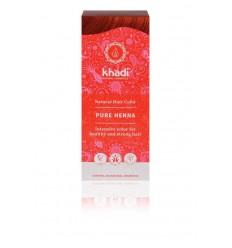 Khadi Haarkleur pure henna 100 gram | Superfoodstore.nl